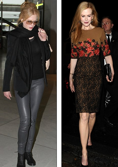 Nicole Kidman In Rock Fashion Style Pink Fashion Blog