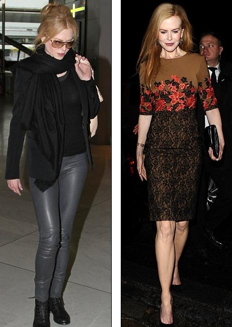 Nicole Kidman In Rock Fashion Style Pink Fashion Blog